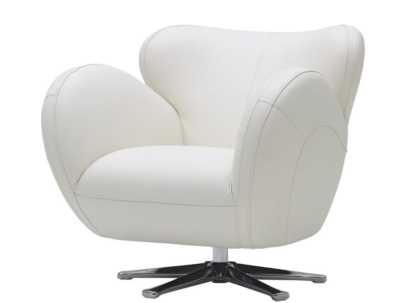 Nueva Chateau Leather Accent Chair