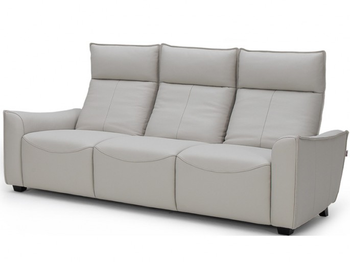 Modern Leather Sofa Bring Luxury Home With Reclining - Modern Recliner Sofa Leather €� Hereo Sofa