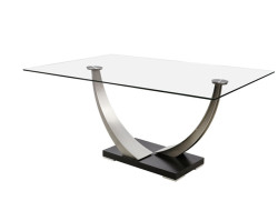 Tangent Rect. Dining Table by Danish Inspirations