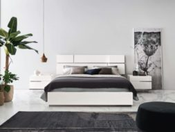 Blanco bed Italy modern furniture Danish Inspirations