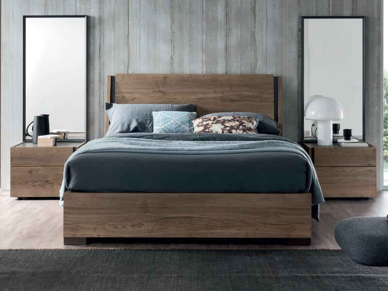 Legna modern bedroom furniture Italy